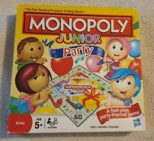 HASBRO JUNIOR MONOPOLY BOARD GAME AGE 5yrs +