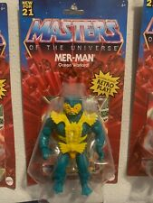 MER-MAN 2021 masters of the universe motu NEW he-man sealed WAVE 3 action figure