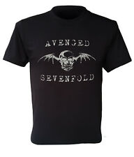 AVENGED SEVENFOLD T-shirt new A7X logo US heavy metal retro rock band S to 5XL