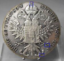 PRACHTSTÜCK!! Maria Theresia Taler 1780, Paris, H70, Silber