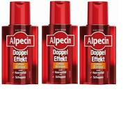 Alpecin Doppel Effekt/ Double Effect shampoo Made in Germany 200ml (3 Pack)