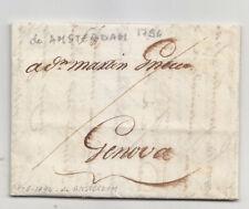 LL657-INCOMING MAIL-PREF.AMSTERDAM X GENOVA 1794