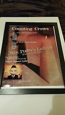 Counting Crows Mrs. Potter's Lullaby Rare Original Promo Poster!