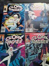 Cloak and Dagger 1-4 High Grade Marvel Lot Set Run (1983)