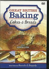 GREAT BRITISH BAKING DVD, CAKES & BREADS WITH ANNIE LOW ALSO BISCUITS & DESSERTS