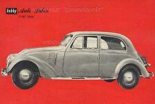FIAT 1500 (1935) - original mini poster/foglio dati di 1964