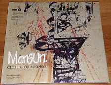 Mansun,Closed For Business, Pre Owned Cd,Excellent Condition