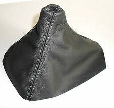Shift Boot suitable for OPEL Astra H real leather grey Anthracite Made in Italy