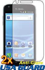 2x Anti-Glare Clear LCD Screen Protector Guard Samsung Galaxy S2 T989 (T-Mobile)
