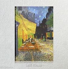 Van Gogh Terrazza del caffè la sera QUADRO TELA STAMPA QUADRI ARREDAMENTO ARTE