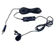 Movo Lavalier Microphone for Canon EOS 1D/5D/6D/7D/60D/70D Rebel T6i T5i T4i T3i