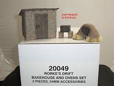 BRITAINS 20049 ZULU WAR RORKES DRIFT BAKEHOUSE + OVENS TOY SOLDIER DIORAMA SET