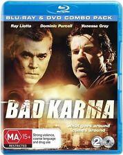 Bad Karma (Blu-ray, 2012, 2-Disc Set) *Starring Ray Liotta and More!*