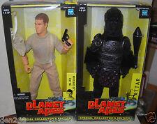 #3020 NRFB Hasbro Planet of the Apes Major Leo Davidson & Attar Figures