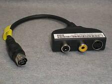 3x DELL INSPIRION-1420 S-VIDEO COMPOSITE AUDIO CABLE mini din 7pin m2010-1730