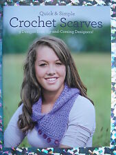 Quick & Simple Crochet Scarves 9 Designs From Up & Coming Designers!