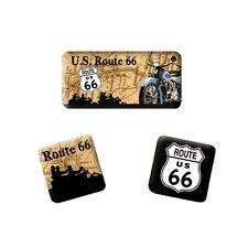 NOSTALGIE - 3 Magnete ROUTE 66 THE MOTHER ROAD NEU