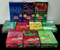 JUICY JAY'S 1 1/4 Rolling Papers~24 Pack~PICK YOUR FLAVOR~FULL BOX~SEALED