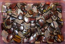 1500Cts AAA Iron Tiger's Eye Cabochon Natural Gemstone Wholesale Lot- 310