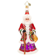 Christopher Radko - Northern Father - Santa Ornament - Luxe Collection 1017516