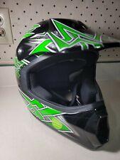 Fulmer JT1 Maze Youth Motocross DOT Helmet Green/Black Maze Youth size Large