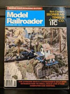MODEL RAILROADER Oct 1985