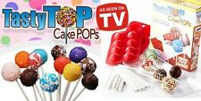 Tasty Top Cake Pops Lollipop Style Cakes (Silicone Non Stick Oven Bake Only)