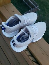 Adidas Men's Alphabounce Instinct Running Shoes Cream White Size 8.5 US Mens
