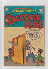 Animal Antics #50 (1954, DC) G- Raccoon Kids