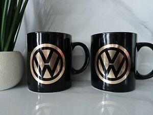 Luxury Mug Set Camper VW Enthusiast Car Garage Set Of Two