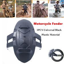 1PC Motorcycle Fender Rear Modification Mudguard Rain Protection Black Universal
