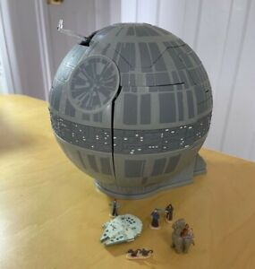 STAR WARS MICRO MACHINES  DEATH STAR, DOUBLE TAKE COMPLETE
