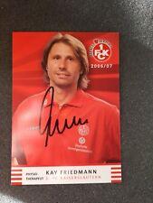 Kay Friedmann 1. FC Kaiserslautern