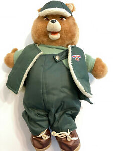 Vintage 1985 Teddy Ruxpin Doll Bear For PARTS ONLY PARTS ONLY