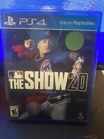 MLB THE SHOW 20 Brand New PS4 Game PlayStation 4 Major League Baseball 2020