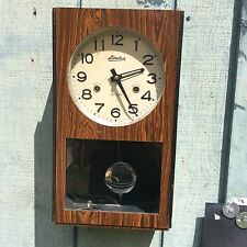 Linden 31 Day Wind Up Pendulum Wall Clock No. 8051- Vintage