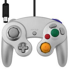Vibration Joypad Controller for Wii GameCube GC Silver