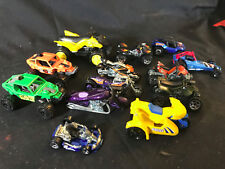 Collectible Mixed Brand Lot Of 13 Off Road Vehicles, Motorcycles Atvs Buggys