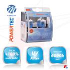 2x Powertec H4 Superwhite +100% 6000k Luz De Cruce & Carretera MERCEDES y más