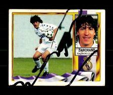 Zamorano Real Madrid 1995-96 Sammelbild Original Signiert+ A 157881