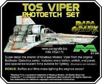 Paragrafix PGX175 1/32 Battlestar Galactica TOS Viper Lightable Photoetch Set