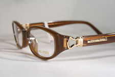 e880ee2ee2c2 New MICHAEL KORS 597 Women's Caramel Brown & Gold Optical Eyeglass Frames  Small