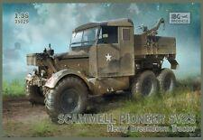 Tracteur Britannique SCAMMELL PIONEER SV2S  - KIT IBG Models 1/35 n° 35029