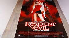 RESIDENT EVIL ! mila jovovich affiche cinema