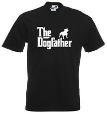 The DOG FATHER Funny Men's T-shirt, Black, 2XL DogFather