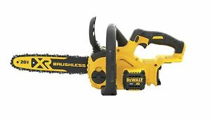 DEWALT DCCS620BR 20V MAX XR Compact 12 in. 20 Volt Cordless Chainsaw TOOL ONLY