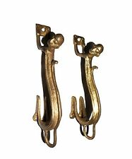 A pair Attractive Brass made Unique Monkey shape DOOR HANDLES from India