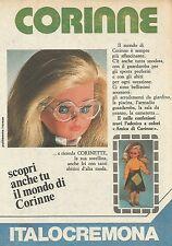 X9854 Corinne - ITALOCREMONA - Pubblicità 1976 - Advertising