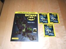 PANINI 80 ans BATMAN Anniversary Sticker Album de scrapbooking 10 pochettes//50 stickers