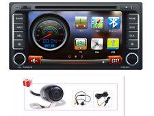 Camera+Map Auto Radio DVD GPS Navigation Stereo For Toyota Corolla Hilux RAV4